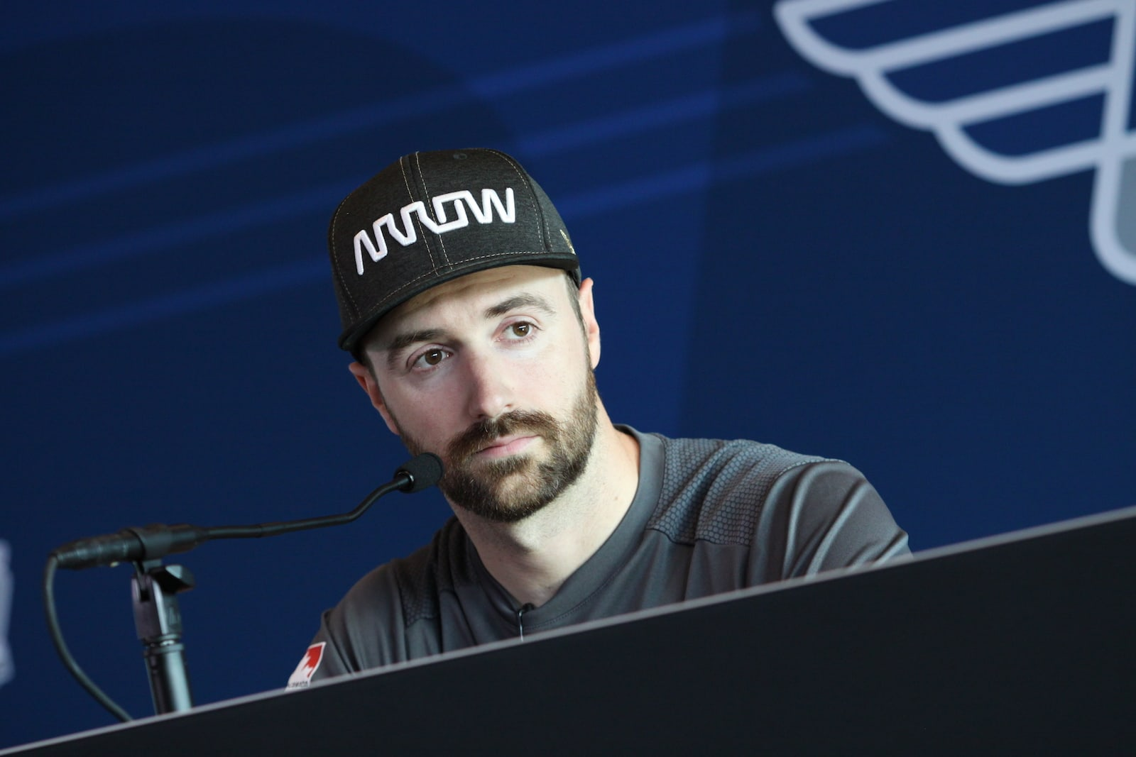 James Hinchcliffe press conference after Indy 500 Bump Day