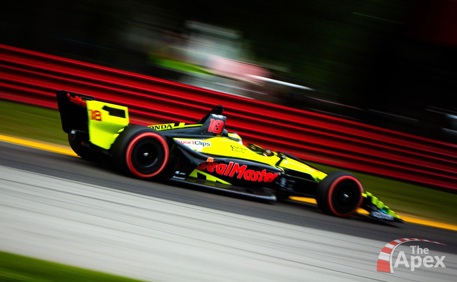 Sebastien Bourdais charges from last during 2018 Honda Indy 200