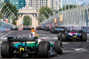 2018 Toronto IndyCar race start at Princes' Gate