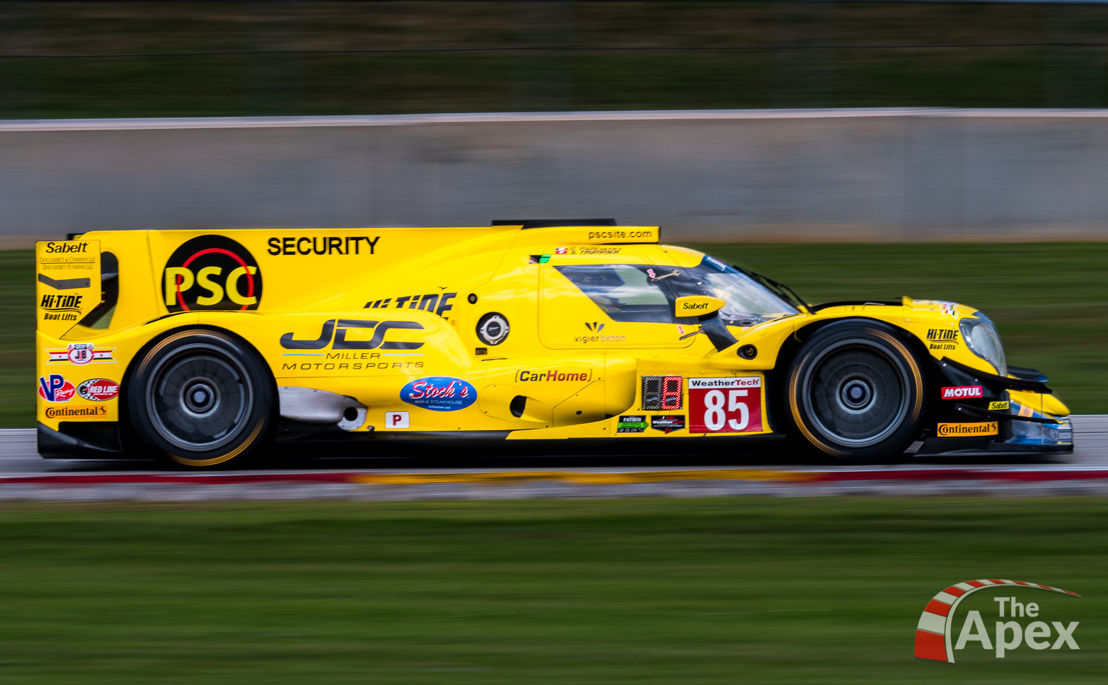 JDC-Miller Motorsports Banana Boat LMP2 speeds at Road America