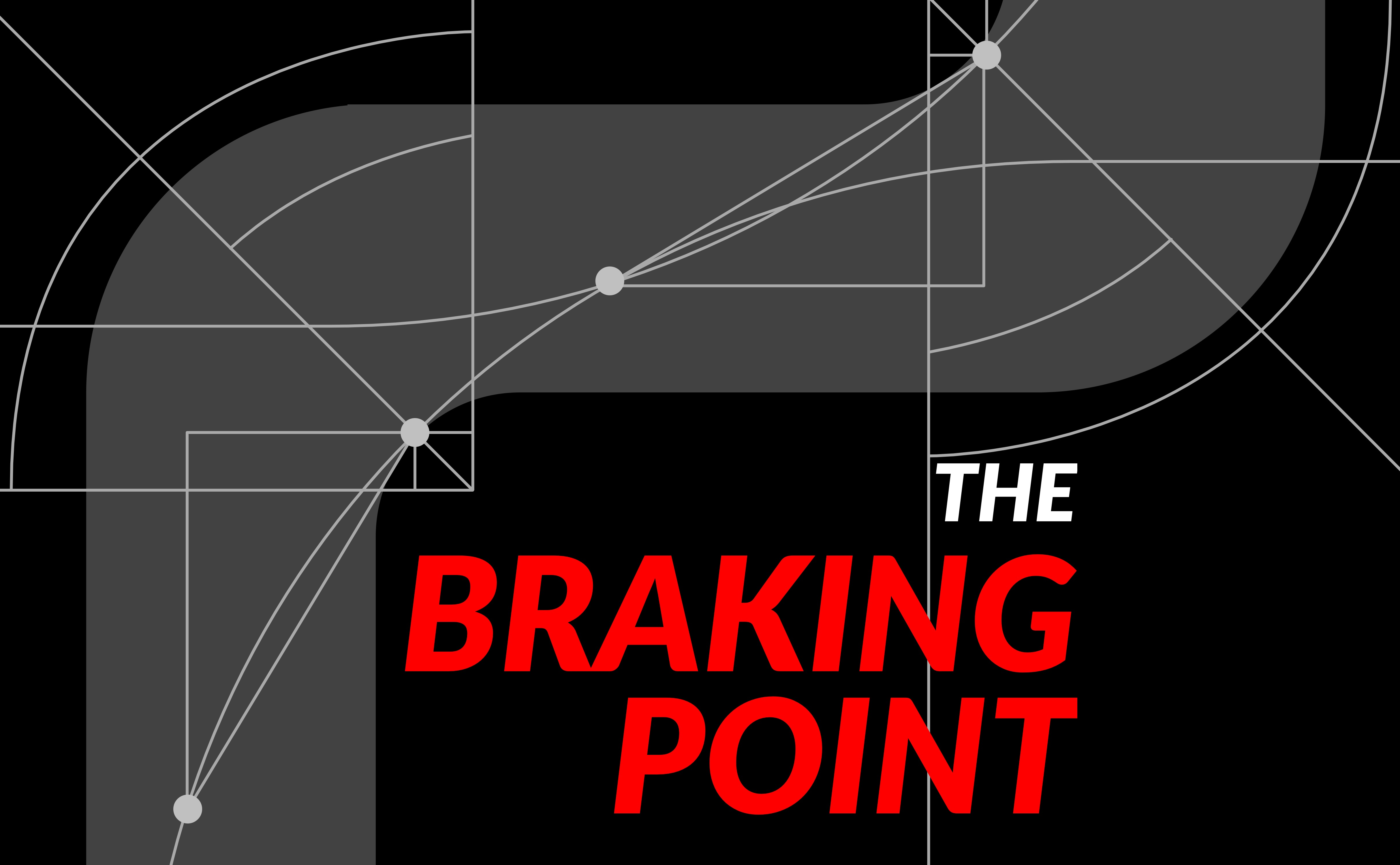 The Braking Point podcast featured logo artwork