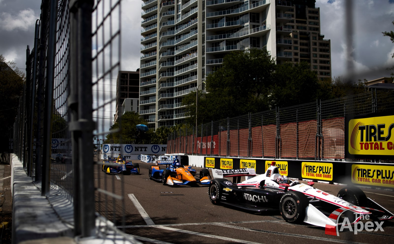 Rossi and Dixon chase Newgarden in 2019 St. Pete IndyCar race