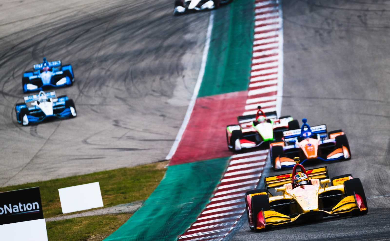 IndyCar drivers ignore COTA track limits at Turn 19