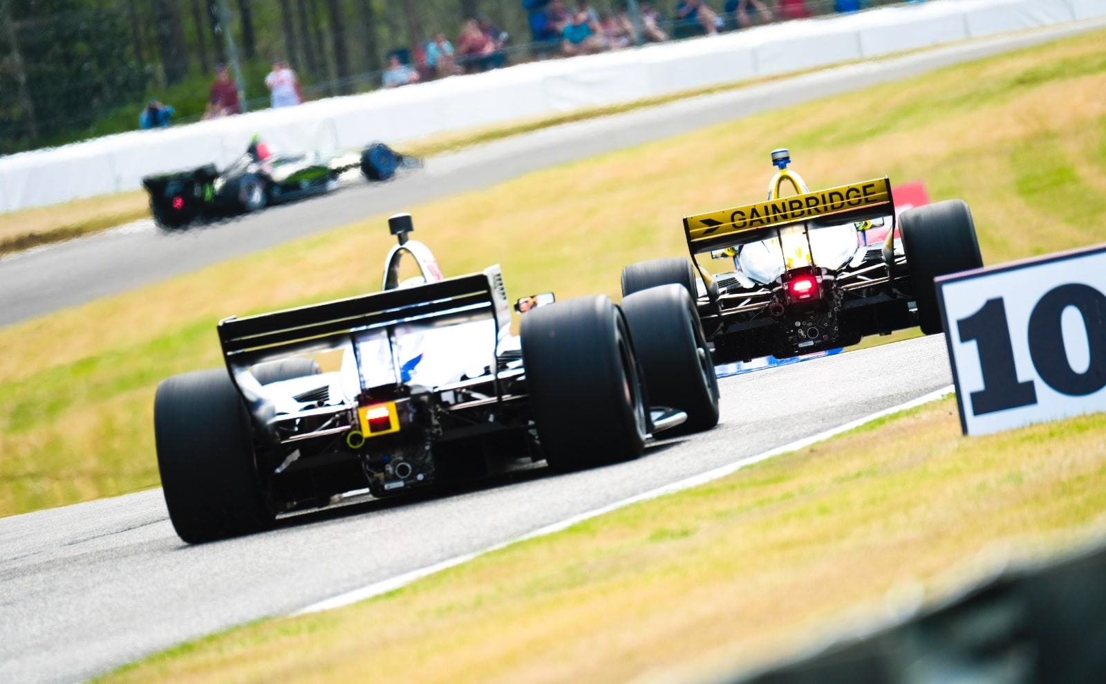 Zach Veach navigates Barber IndyCar track in 2019 race