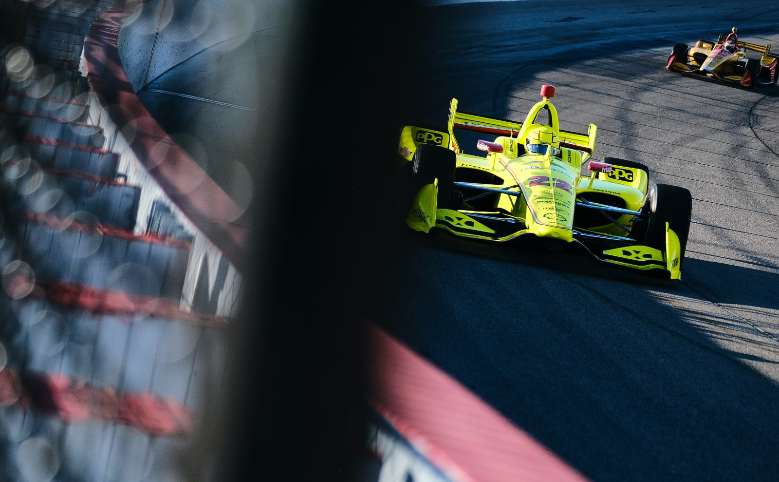 Simon Pagenaud laps Iowa ahead of Hunter-Reay in 2019 IndyCar practice