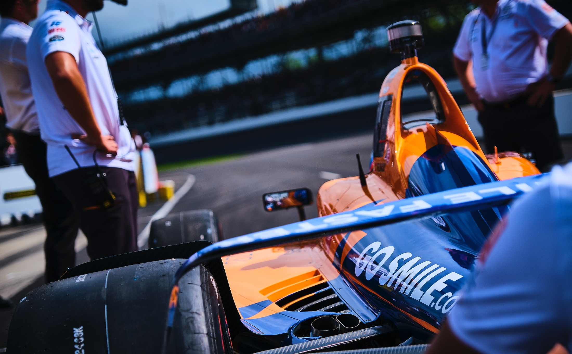 Arrow McLaren Indy 500 car for Fernando Alonso