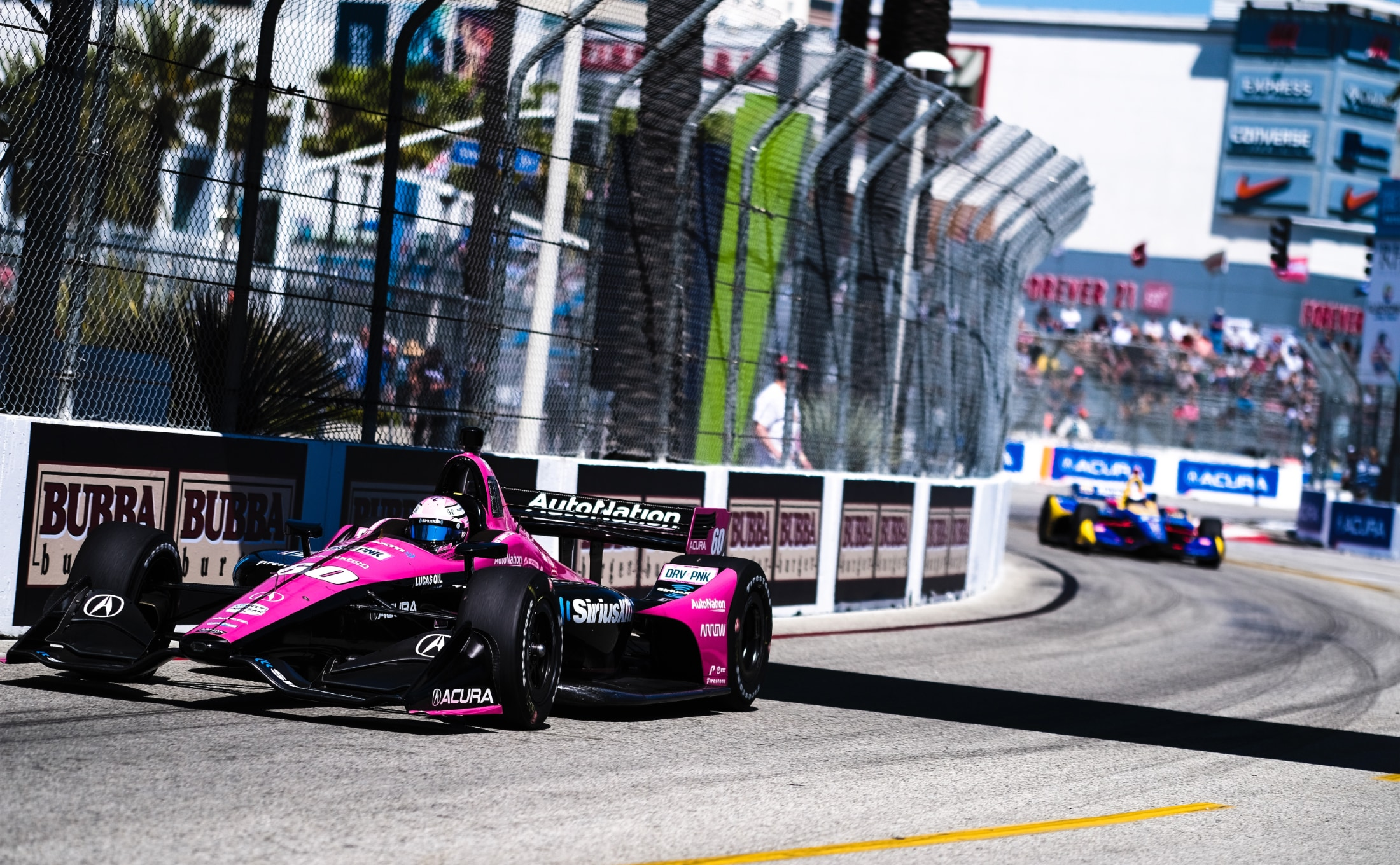 Jack Harvey leads Alexander Rossi in 2019 Acura Grand Prix Long Beach