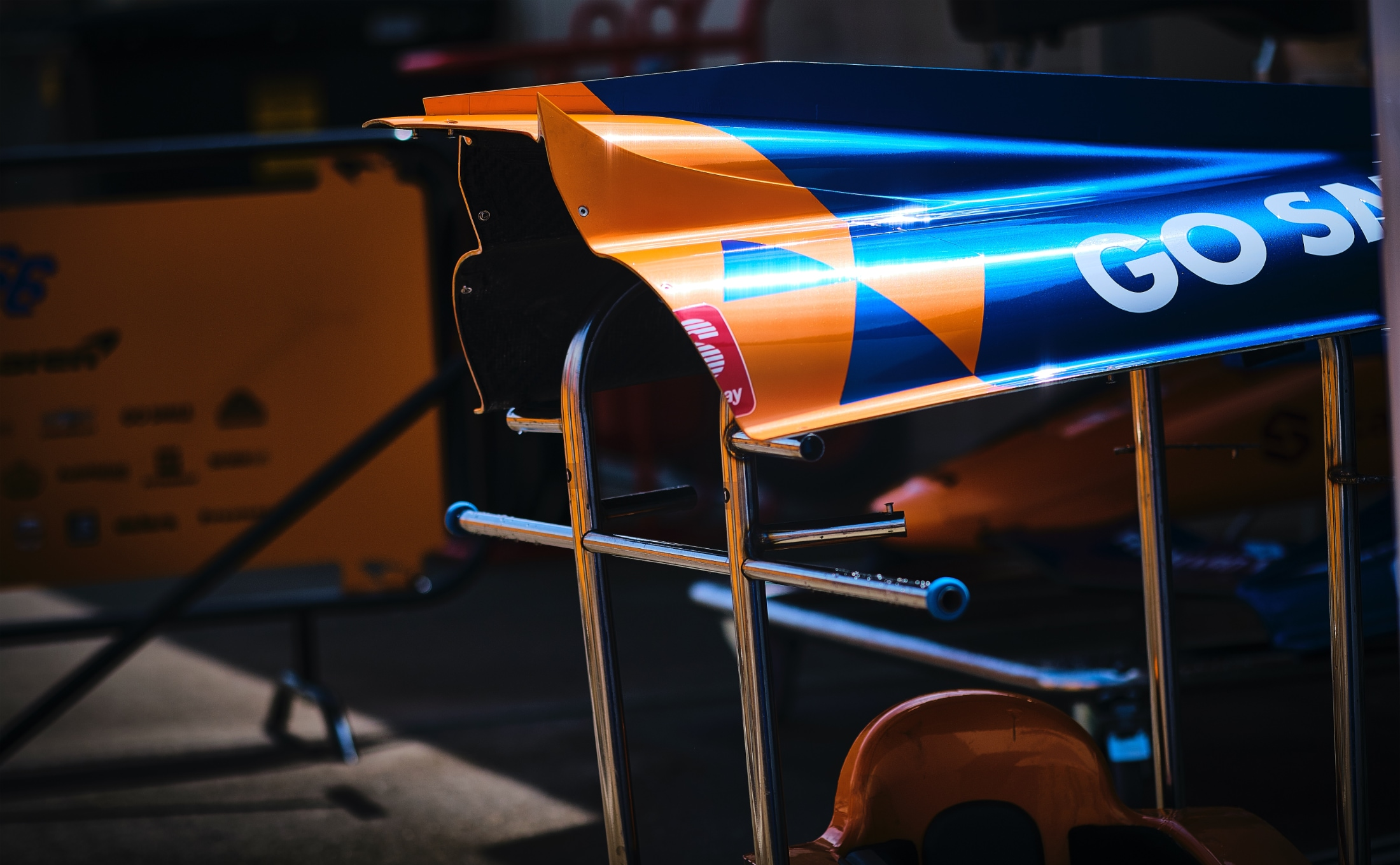 McLaren IndyCar aero kit bodywork at Indy 500