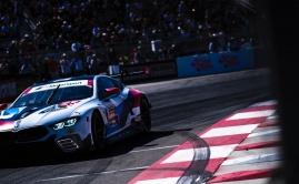 BMW M8 GTE races 2019 Long Beach Grand Prix