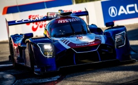 CORE autosport Nissan DPi qualified at Long Beach