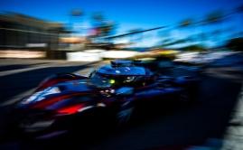 Tristan Nunez races Mazda Team Joest DPi at Long Beach